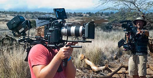 Big Island Gigs, film production rentals